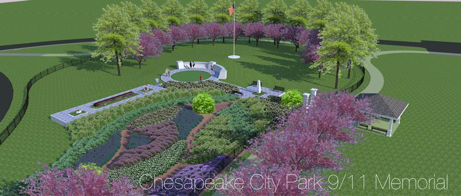 Chesapeake City Park 9 11 Memorial